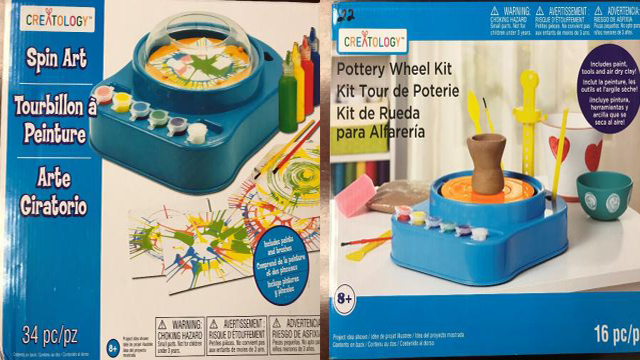Michaels recalls art kits pottery wheels due to fire burn haza photo us consumer product safety commission malvernweather Choice Image