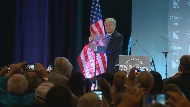 President Trump hugged the American flag. Is that against flag etiquette?