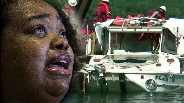 Survivor of duck boat sinking urges ban on such crafts
