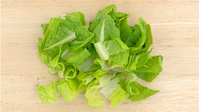 Chopped romaine lettuce from the Yuma, Arizona, area is thought to be the source of the outbreak. (Photo: BW Folsom/Shutterstock)