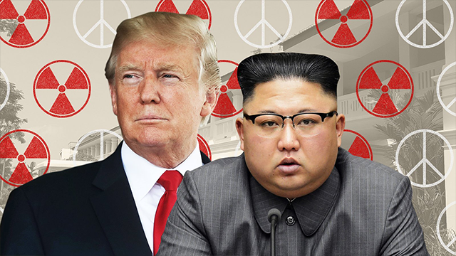 "North Korea state media reported Monday that leader Kim Jong Un and US President Donald Trump will discuss denuclearization and establishing a ""durable peace-keeping mechanism"" on the Korean Peninsula during their historic summit on Tuesday. (CNN)"