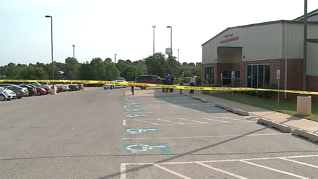The Oklahoma County Sheriff's office said a 14-year-old girl is in stable condition after being stabbed multiple times at Luther High School. (KFOR via CNN)