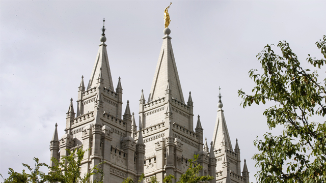 The Church of Jesus Christ of Latter-day Saints is embarking on a rebranding effort of sorts. (George Frey/Getty Images via CNN)