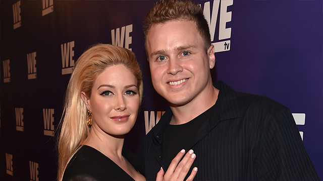 TV personalities Spencer Pratt and Heidi Montag attend the WE tv presents 'The Evolution of The Relationship Reality Show' at The Paley Center for Media on March 19, 2015 in Beverly Hills, California. (Photo by Alberto E. Rodriguez/Getty Images)