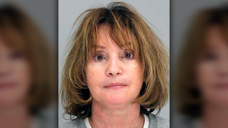 This photo shows Rebecca Anderson. Anderson, the owner of a Dallas-area in-home day care center, is accused of keeping infants and toddlers tied to their car seats for hours. (Dallas County Jail via AP)