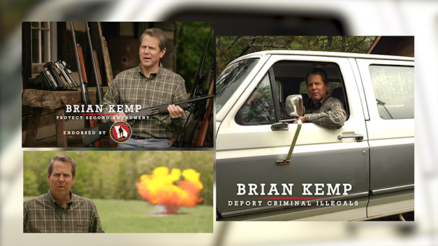Yup, I just said that': Campaign ad features 'big truck' for ...